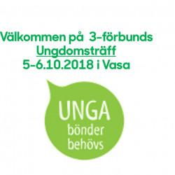 Välkommen med på Ungdomsträff i Vasa 5-6.10  2018