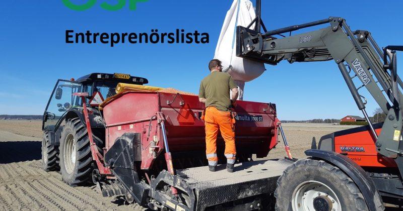 Jordbruksentreprenörer